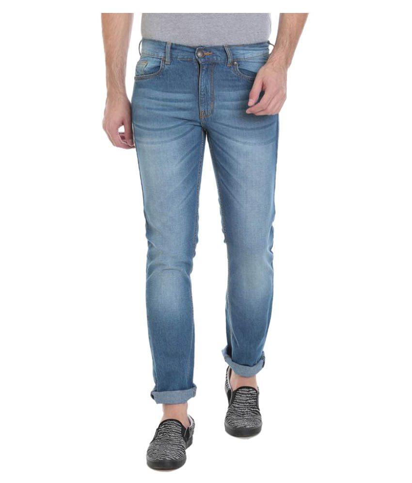 Vudu Light Blue Slim Jeans