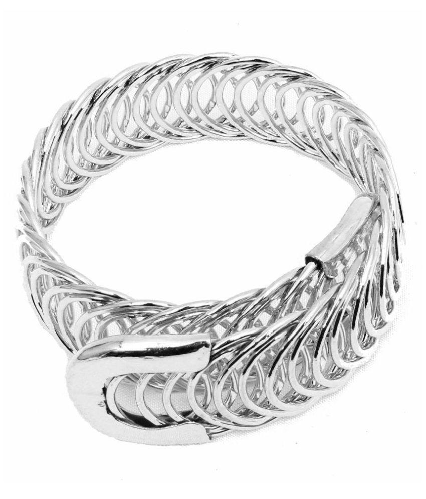 Super Shop Indian Style Silver Bracelet For Woman