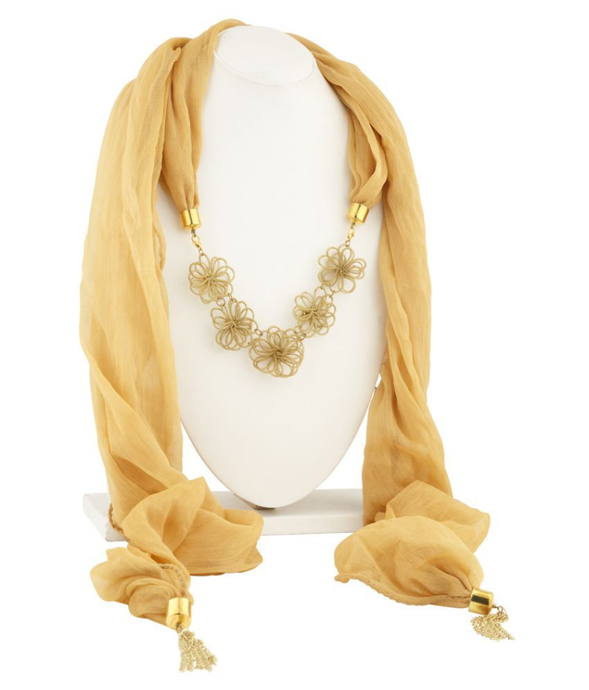 Sukkhi GoldenRod Scarves