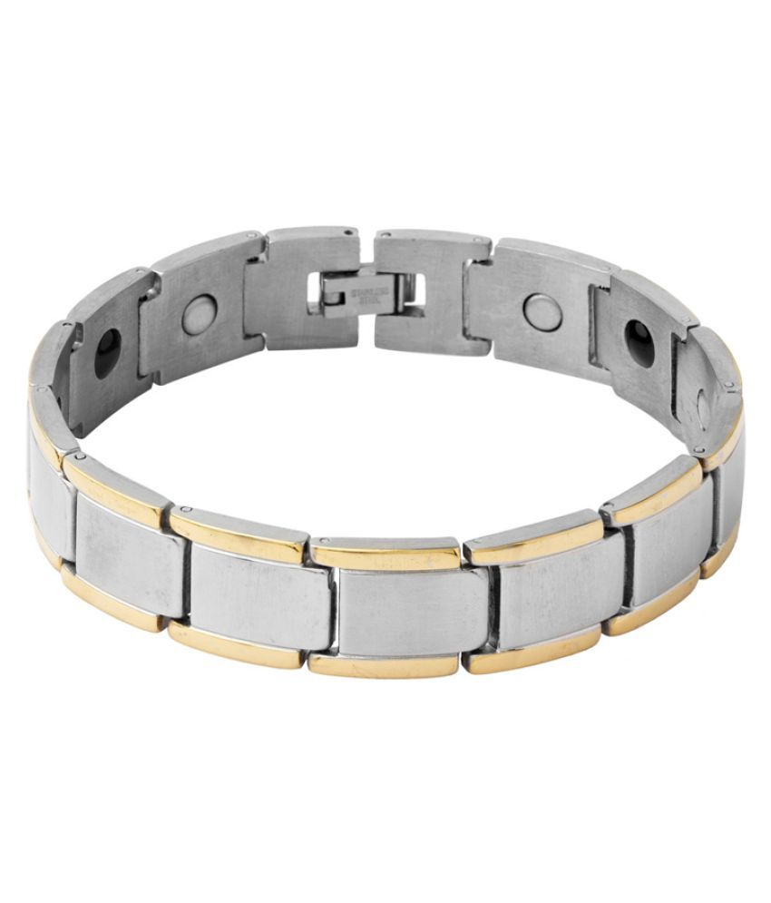 Dare Classy Dual Tone Bracelet