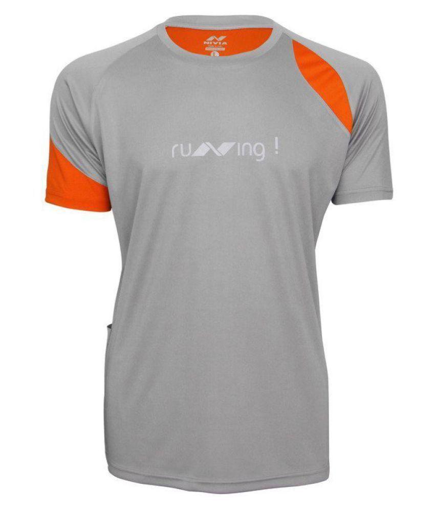 Nivia Running Fitness T-Shirt