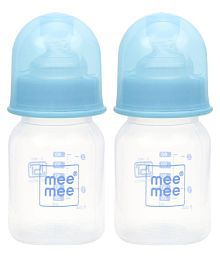 Mee Mee Blue Feeding Bottle - Pack Of 2