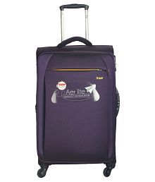 VIP Purple M( Between 61cm-69cm) Check-in Soft Aerlite Luggage
