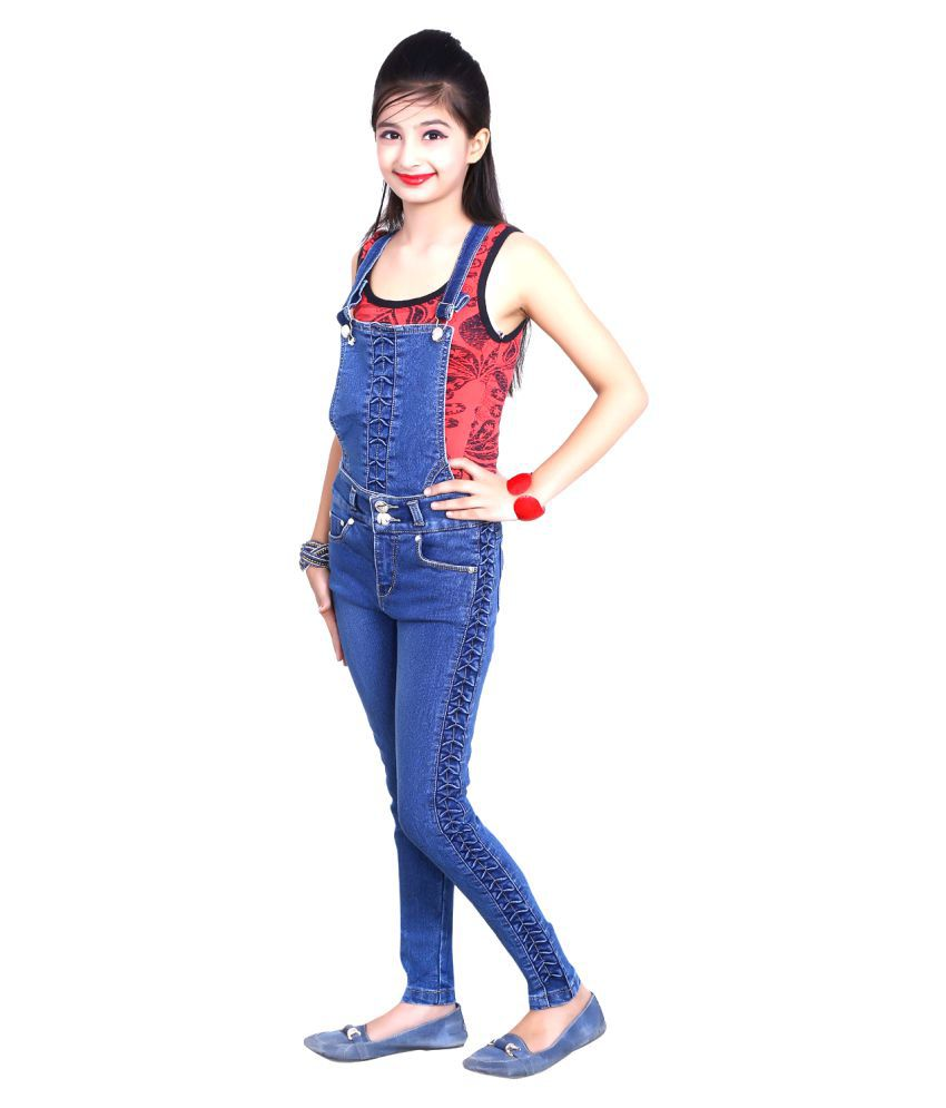 Sunday Casual Blue Dungaree Jeans 2 In 1 Buy Dungarees With Hood 10