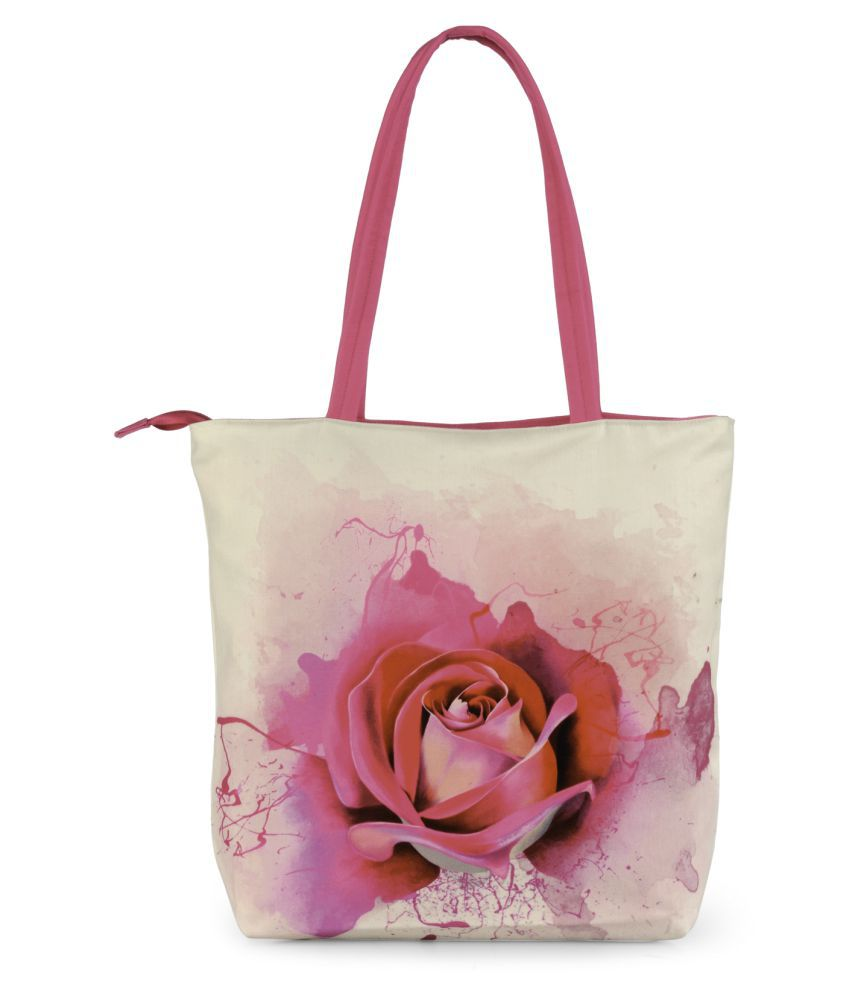 Nell Multi Polyster Tote Bag