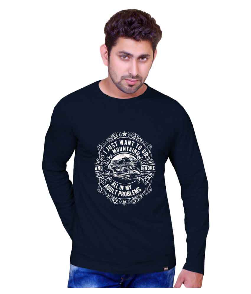 Inkit Navy Round T-Shirt