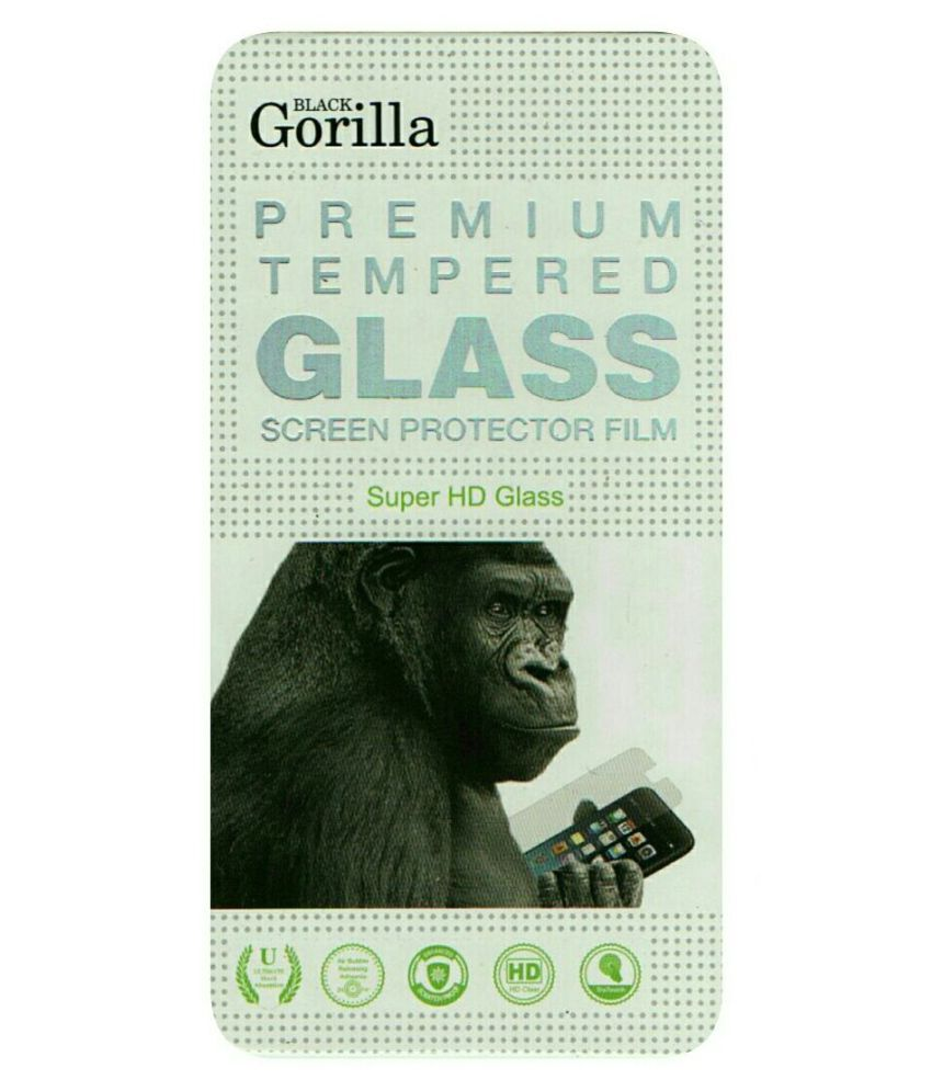LYF FLAME 7 Tempered Glass Screen Guard By BLACK GORILLA