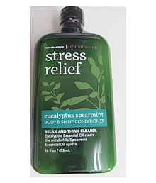 Bath & Body Works Aromatherapy Stress Relief Eucalyptus  Conditioner Deep Conditioner 473 Ml