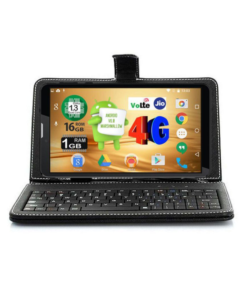 I Kall N4 16GB with Keyboard VoLTE Black ( 4G + Wifi , Voice calling )