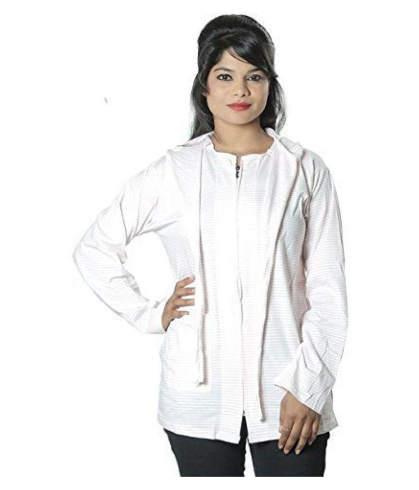 Mahi Fashion Girls Summer Coat Size - L (Grey Star Print)