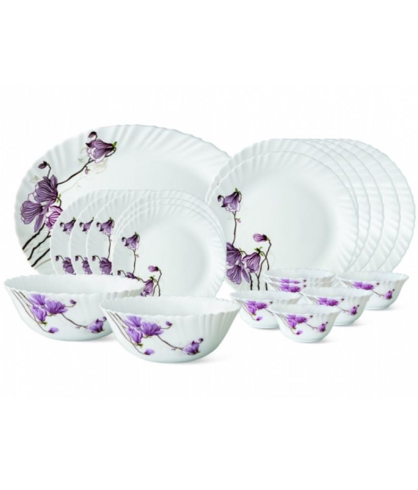 Borosil Opalware Dinner Set of 27