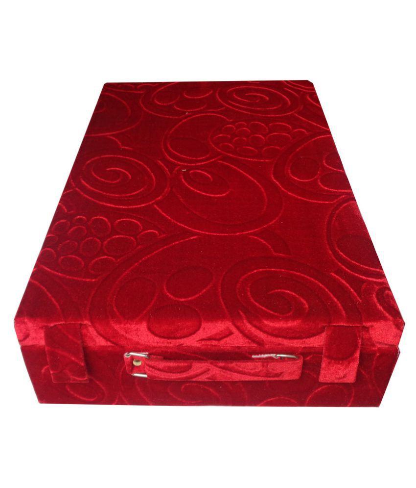 Abhinidi 5 Roll Rod Wodden Velvet Bangles Box