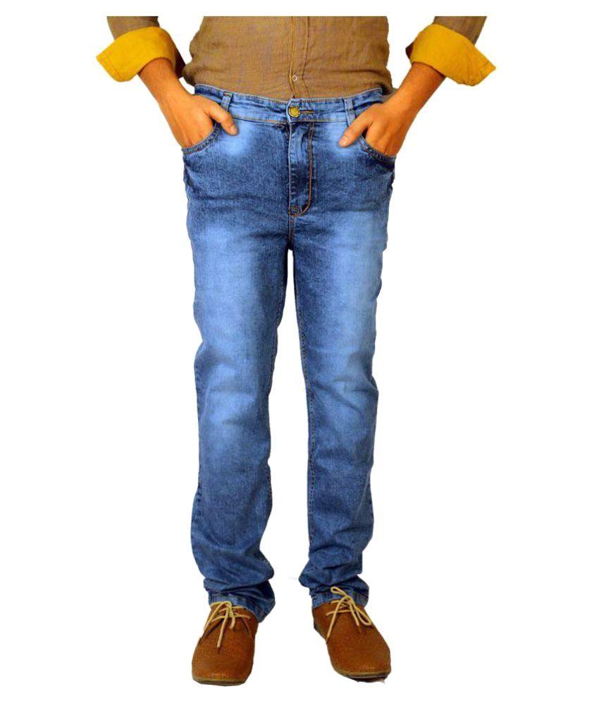 Allen Martin Light Blue Slim Jeans