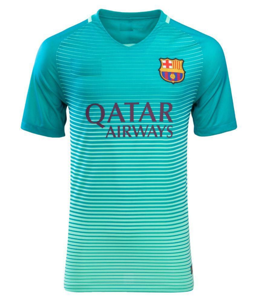 ff7c6c6bdb3 Barcelona Third Jersey  Buy Online at Best Price on Snapdeal