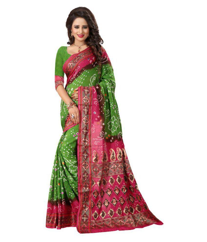 Rajlaxmi Multicoloured Cotton Silk Saree