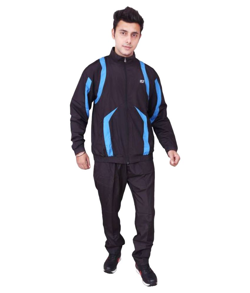Vector Black Track Suit Set