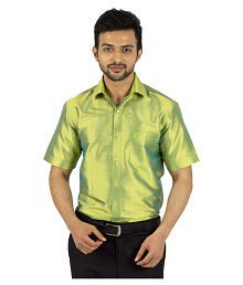 b59cf09201599e Quick View. Khoday Williams Green Partywear Regular Fit Shirt. Rs. ...
