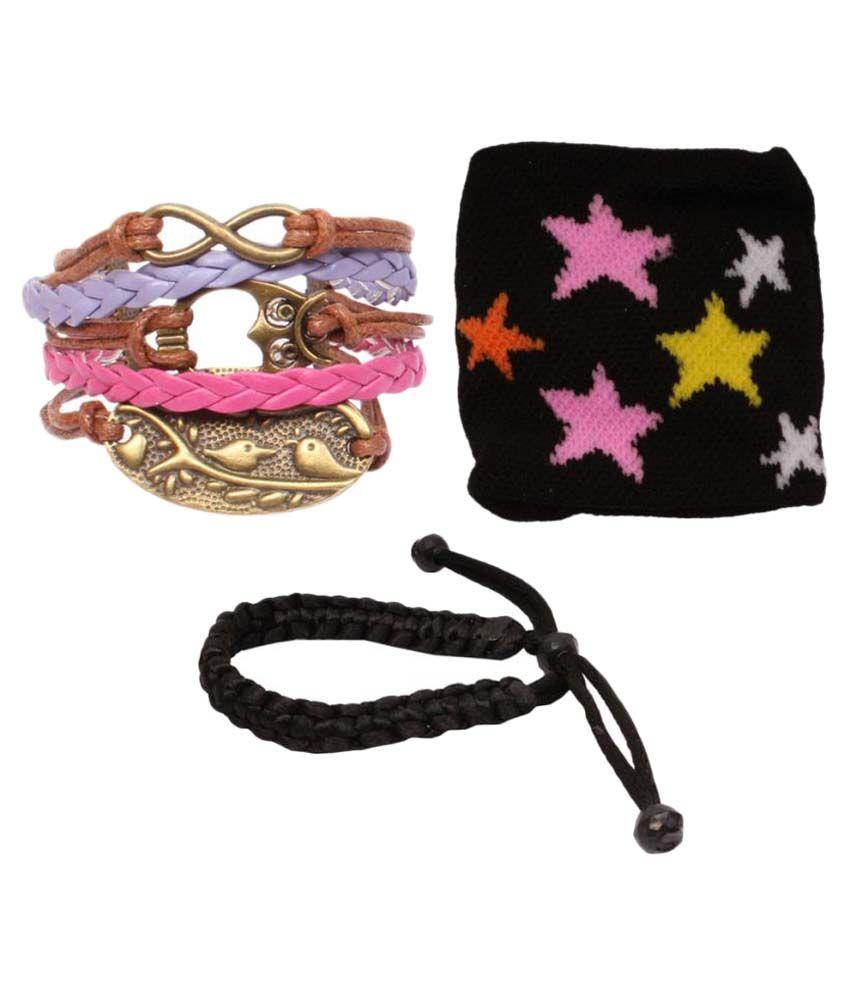 Sushito Multicolor Bracelet Combo