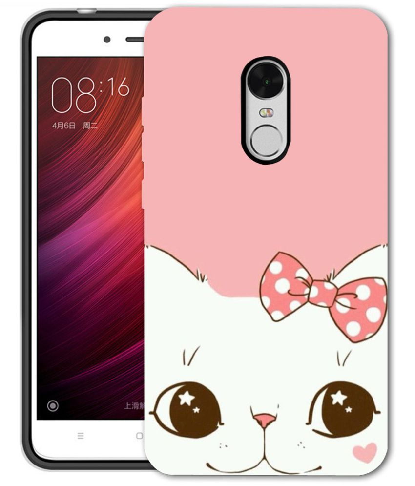 best service 16c7d d0d25 Xiaomi Redmi Note 4 3D Back Covers By Silver Ink