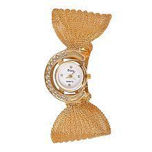 Glory Golden Analog Watch