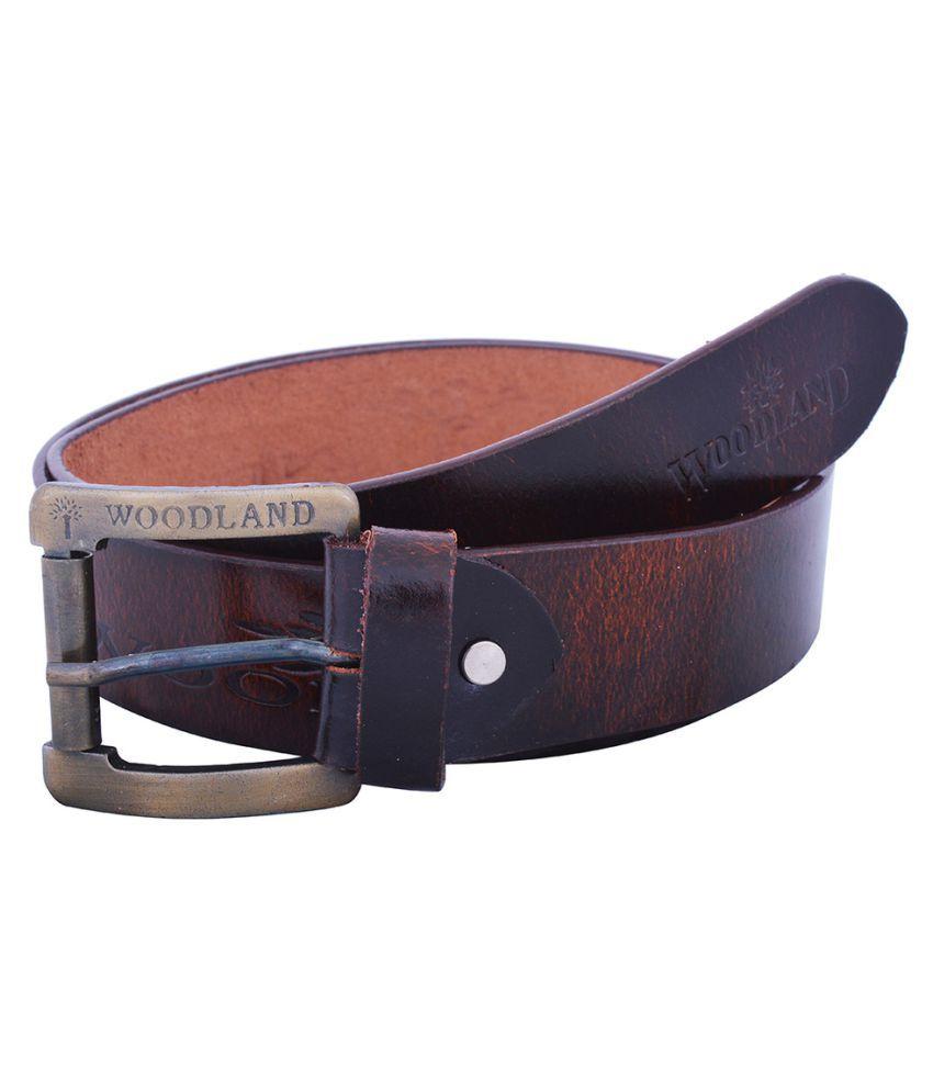 Dreamship Brown Leather Formal Belts