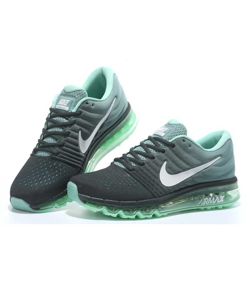 e0d05473a71e Nike Air Airmax 2017 Green Running Shoes - Buy Nike Air Airmax 2017 ...