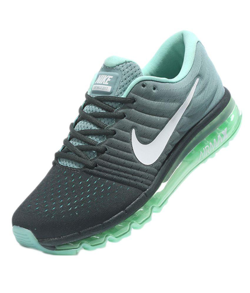 Nike Air Airmax 2017 Green Running Shoes - Buy Nike Air Airmax