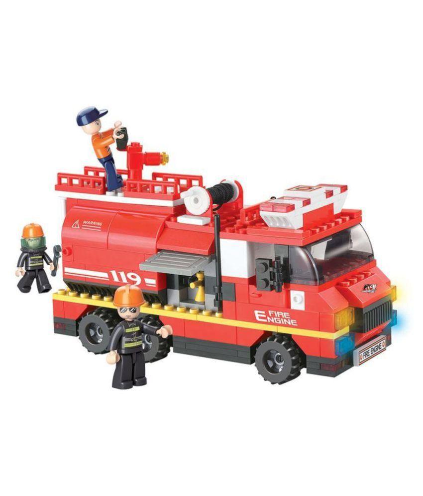 Sluban Lego Fire Engine Construction Set