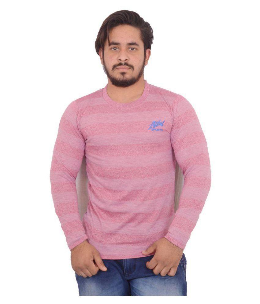 Hero & Piyush Pink Round T-Shirt