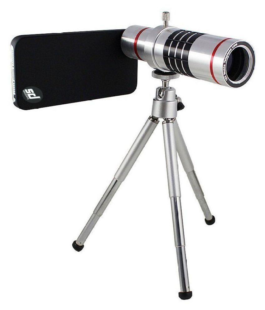 Smiledrive Samsung Note 3 18X Telescope Lens Kit Set - Zoom Lens, Back Cover & Mobile Tripod