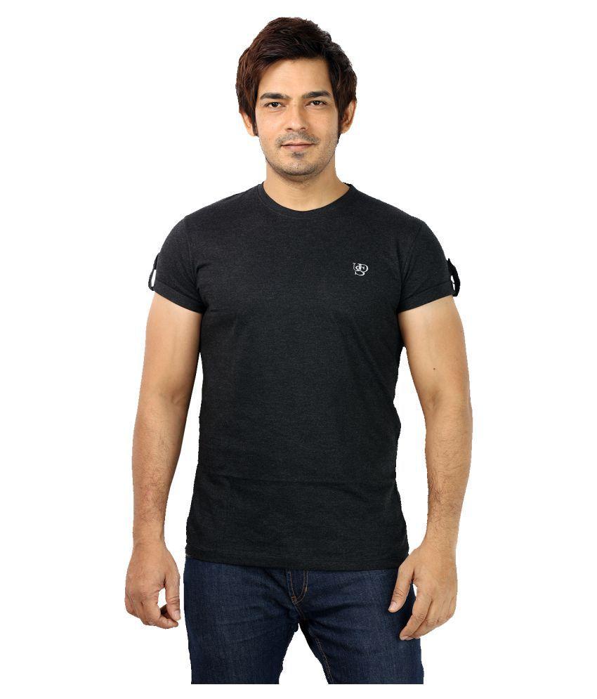 UD Sports Black Round T-Shirt