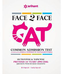 Face To Face CAT Common Admission Test Previous 24 years (1993-2016).