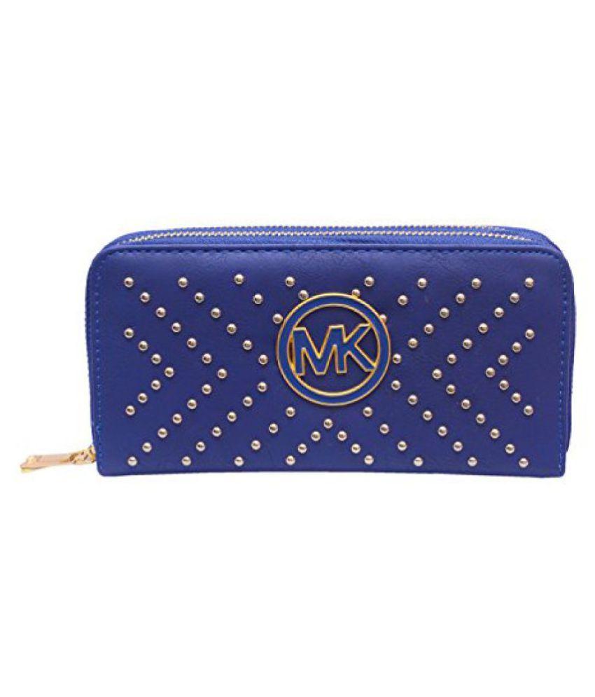 Ruff Blue Elegant Fashionable Stylish Designer Casual Hand clutch Hand purse Wedding Purse Party Wear Hand Clutch Men Women Hand Clutch