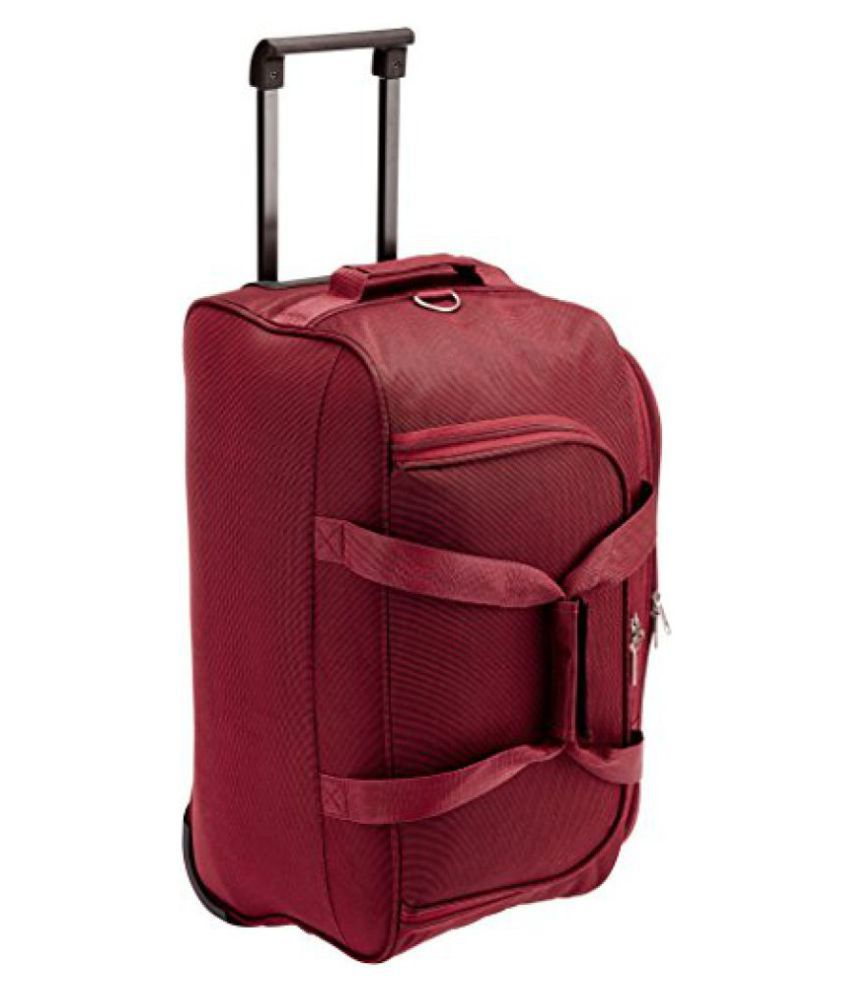 Safari Tridex Polyester 63 cms Red Softsided Travel Duffle (Tridex-65-Red-RD)