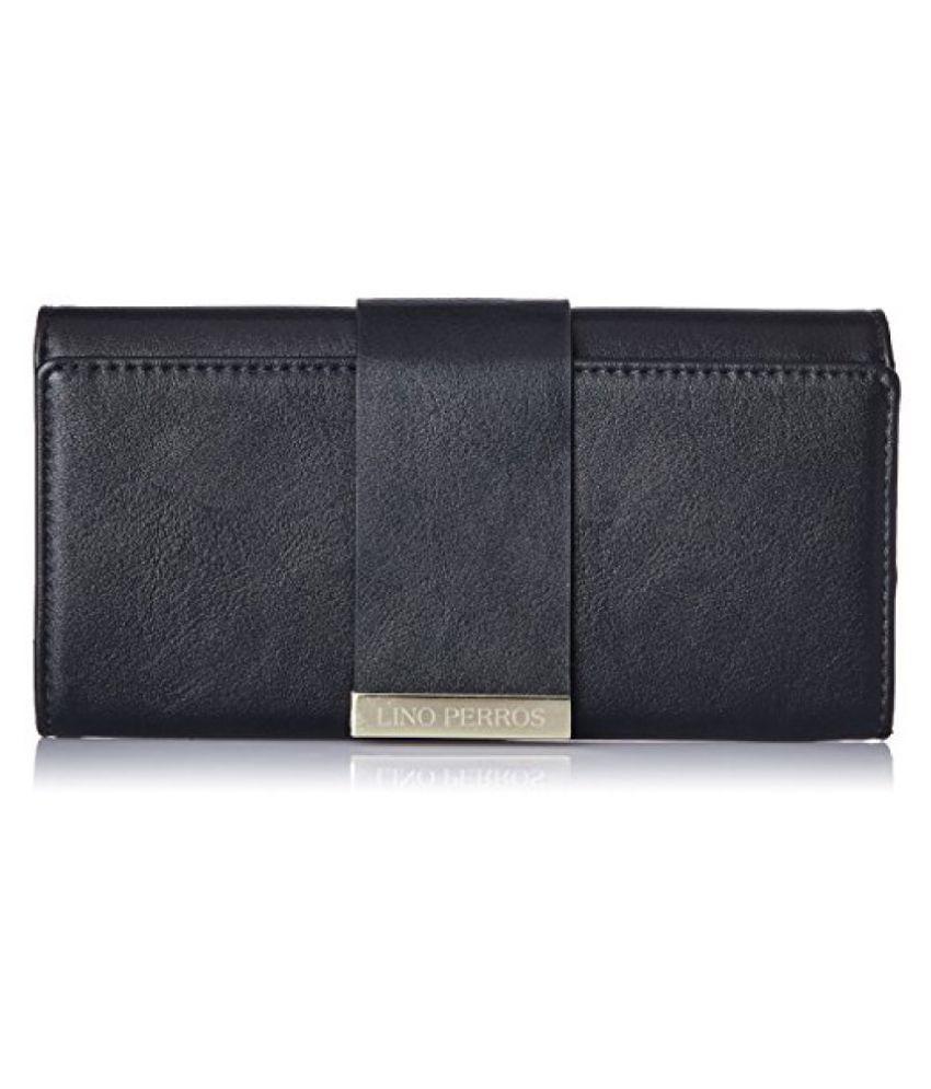 Lino Perros Black Wallet