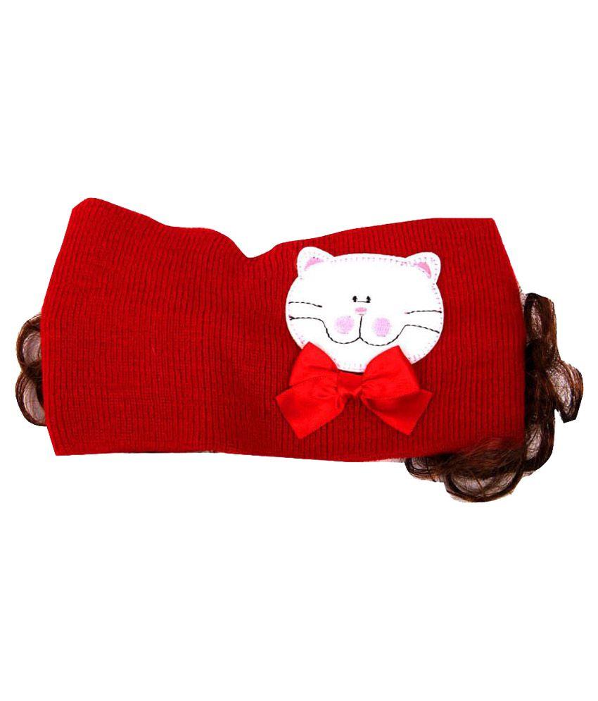 Pikaboo Red Bandana Cap