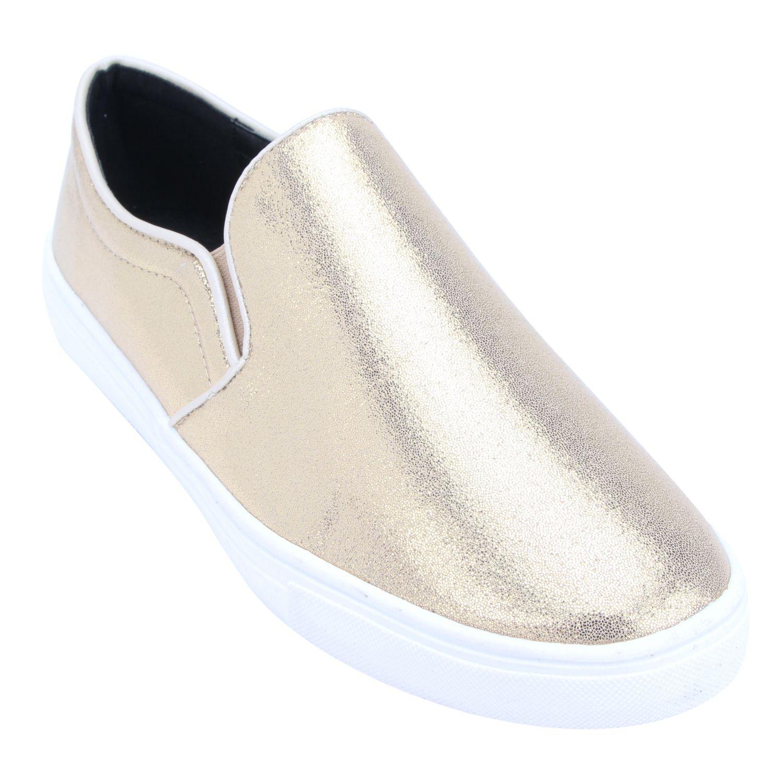 Tao Paris Gold Casual Shoes