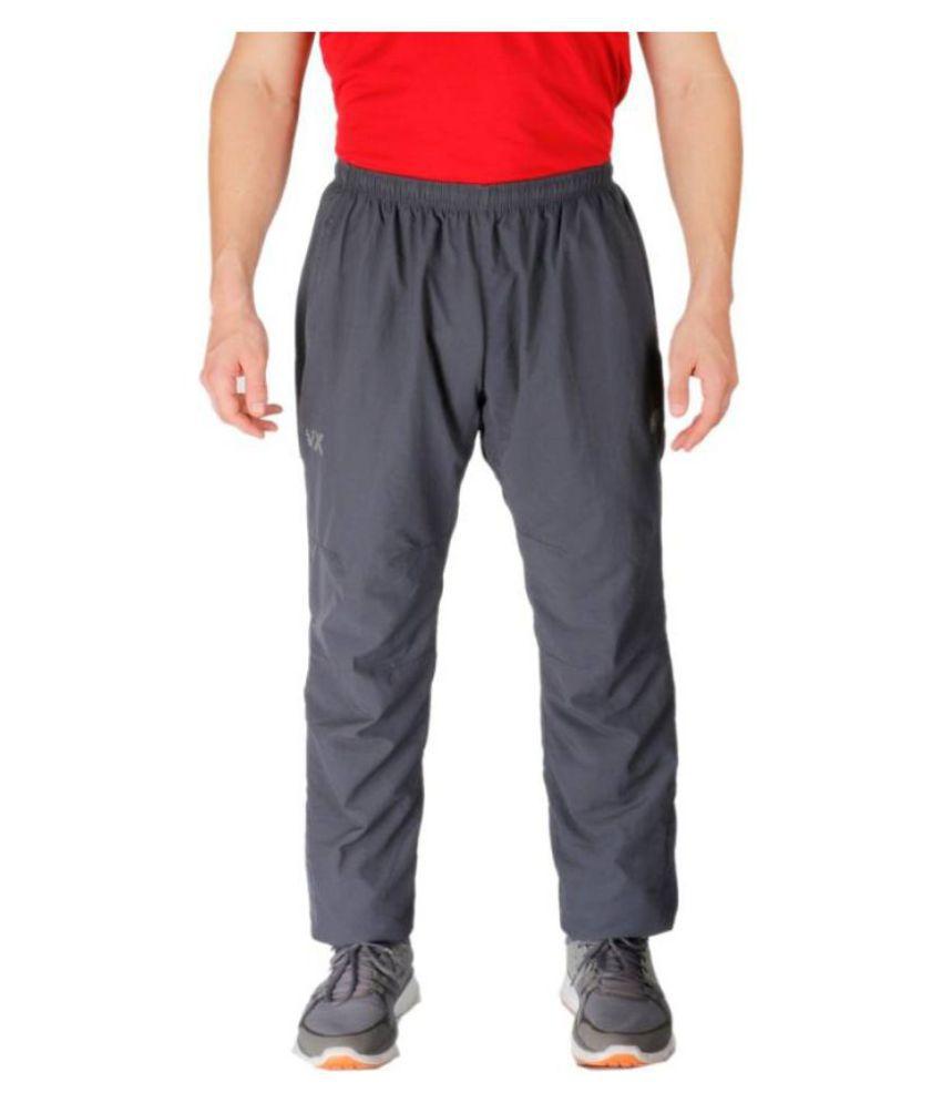 Vector X VL-1600-C Solid Men's Grey Track Pants
