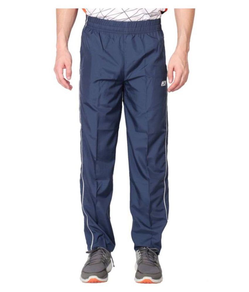 Vector X VL-500-E Solid Men's Blue Track Pants