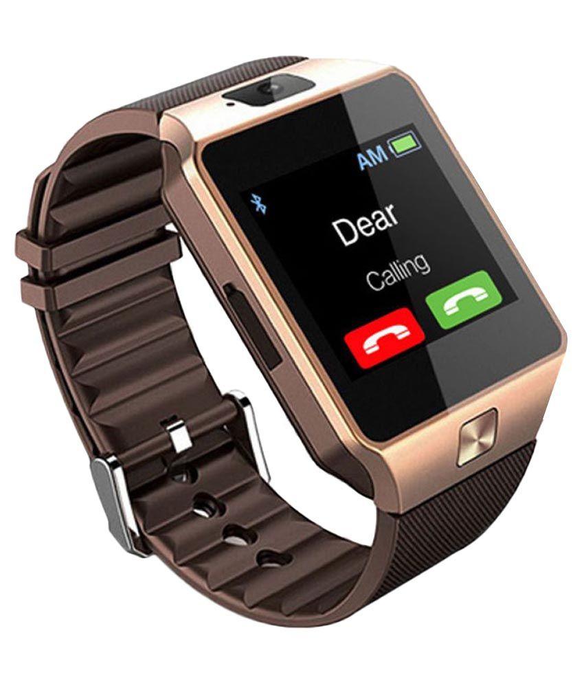 Sash DZ09 Smart Watches Brown