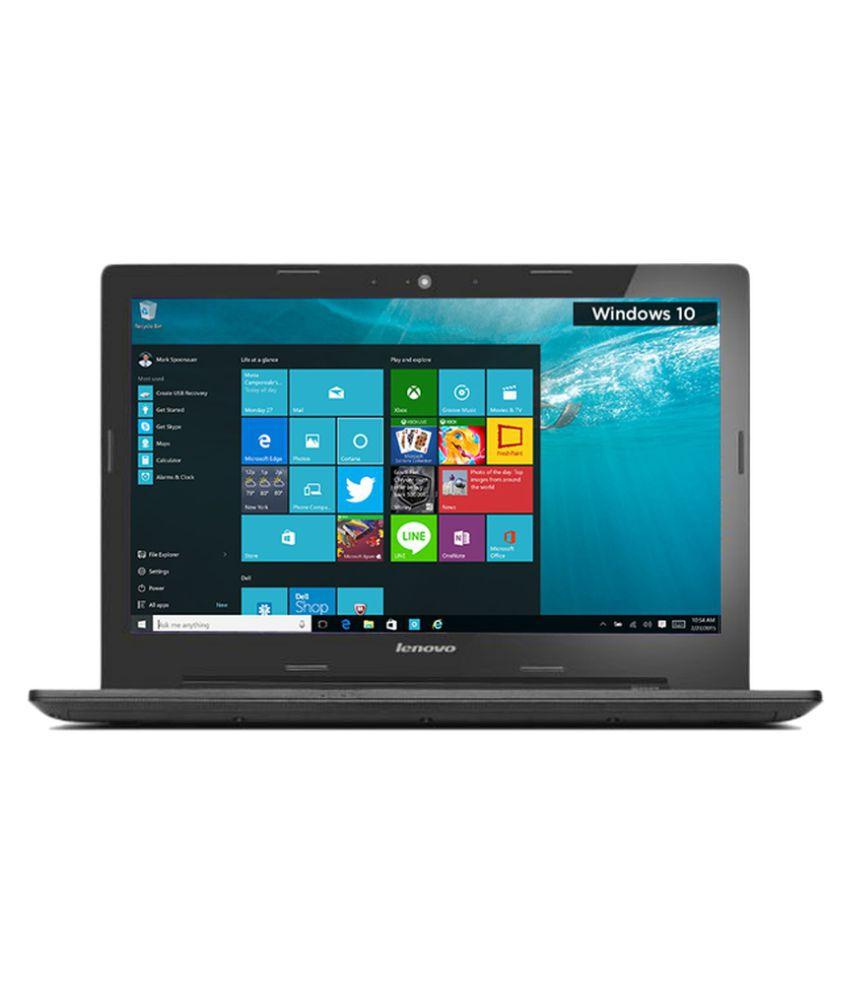 Lenovo G Series G50-80 (80E503G2IH) Notebook Core i3 (5th Generation) 4 GB 39.62cm(15.6) Windows 10 Home - Black