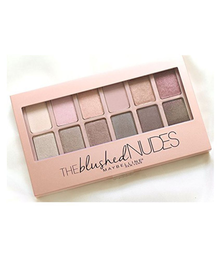 Maybelline The Blushed Nudes Eyeshadow (12 Shades in One Palette) with Ayur Product in Combo: Buy Maybelline The Blushed Nudes Eyeshadow (12 Shades in One ...