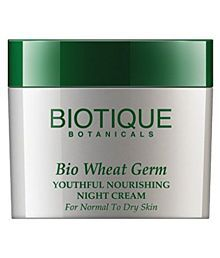 Biotique Bio Wheat Germ Firming Face And Body Cream For Normal To Dry Skin, 50g