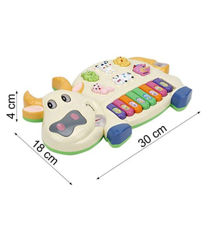 Param Musical Cow Educational Piano Keyboard Toy Game Buy Param