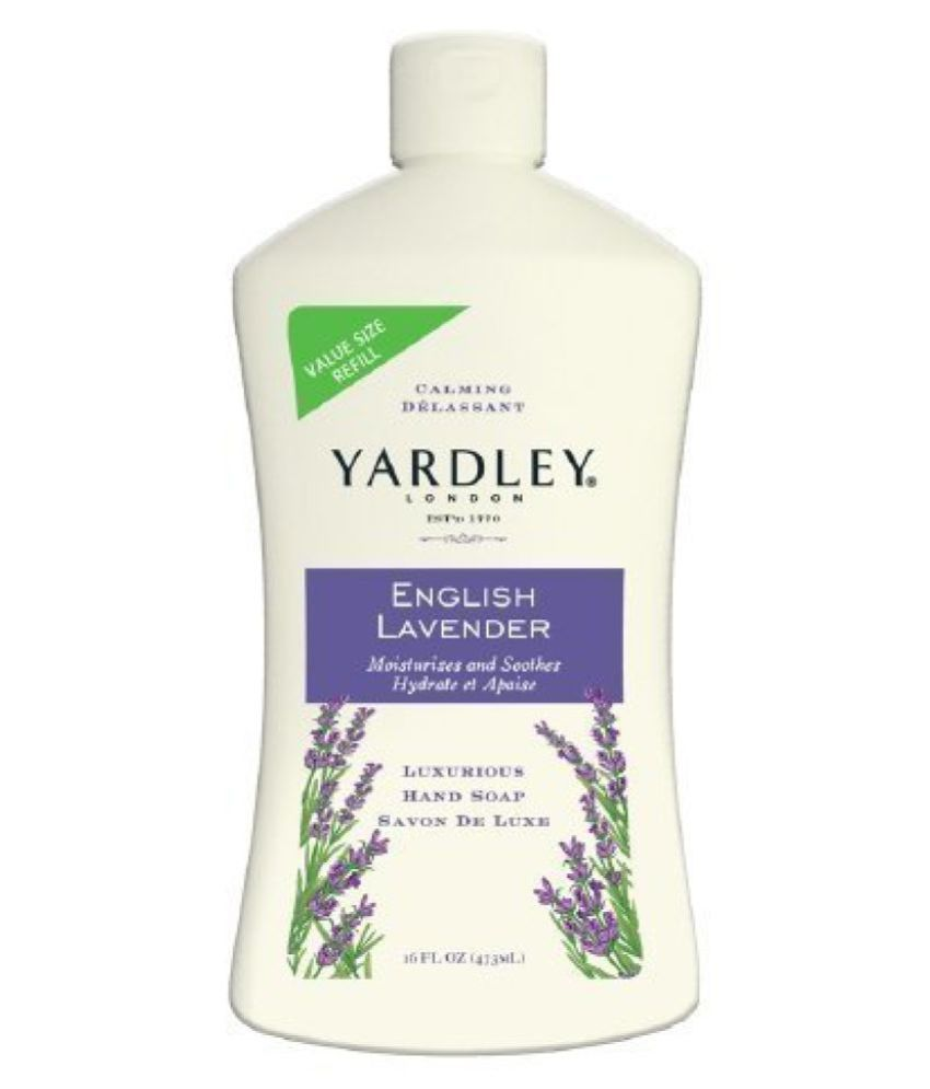 Yardley Of London Luxurious Hand Soap Refill, Flowering English Lavender 16 Oz(pack Of 2)  available at snapdeal for Rs.3136