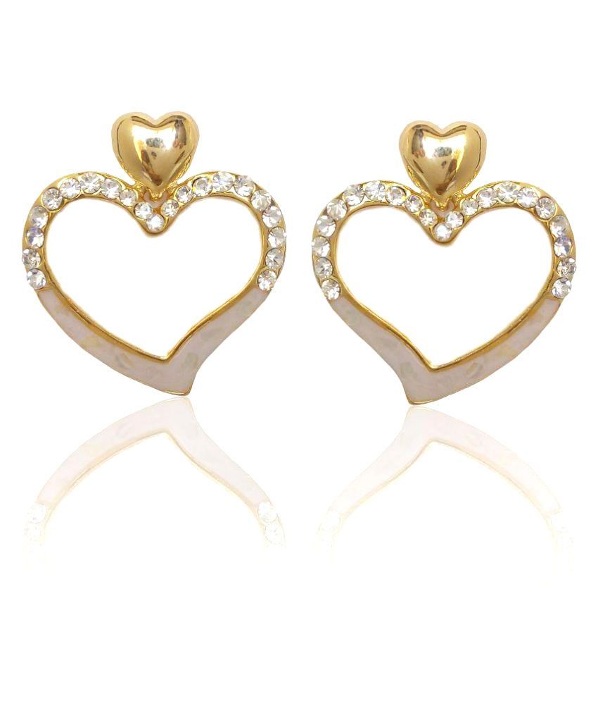 Carrydreams Swarovski Elements Inspired Earrings for Girls