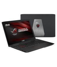 Asus ROG Series GL552VW-CN430T Notebook Core i7 (6th Generation) 8 GB 39.62cm(15.6) Windows 10 Home 8 GB Gray Metal