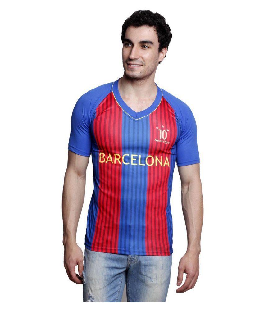 Sportigo Replica FC Barcelona MESSI Home Football Jersey