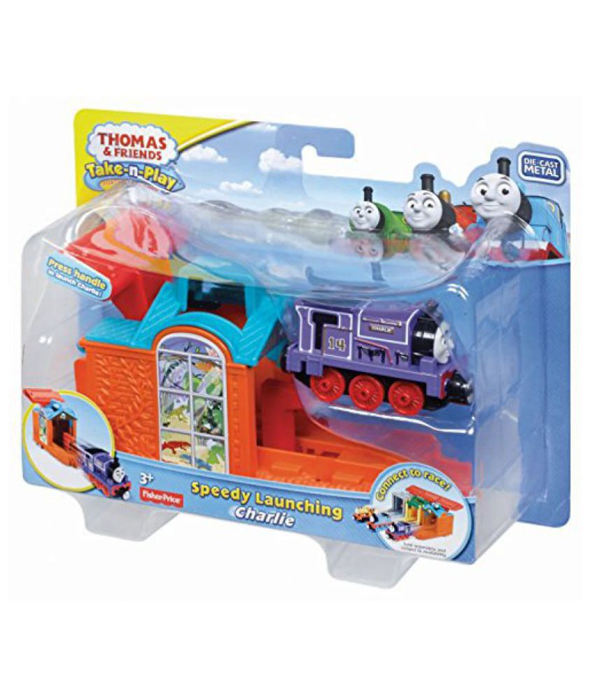 Fisher-Price Thomas The Train: Take-n-Play Speedy Launching - Charlie