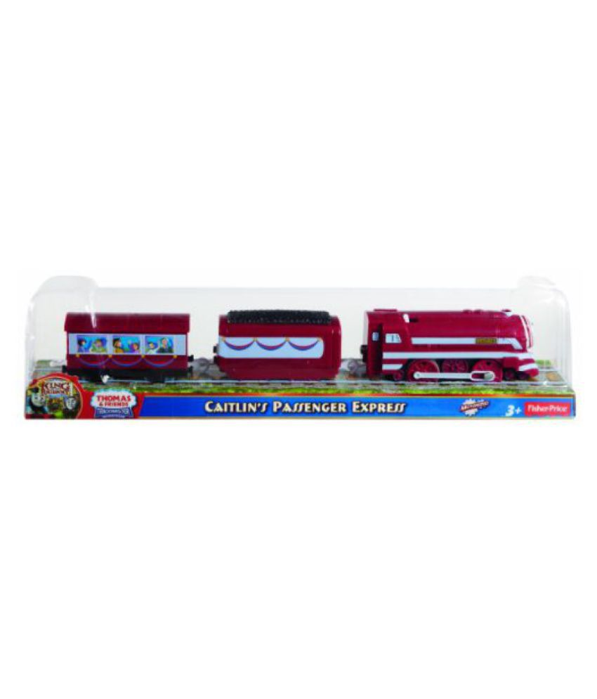 Fisher-Price Thomas the Train TrackMaster New Friends/Greatest Moments - Caitlin's Passenger Express